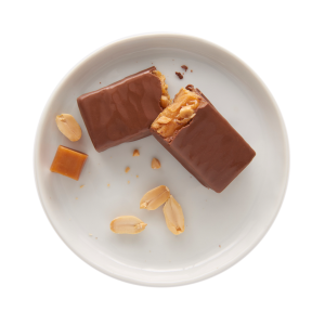 Caramel Peanut Protein Bars
