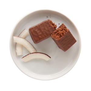 Chocolatey Coconut Protein Bars