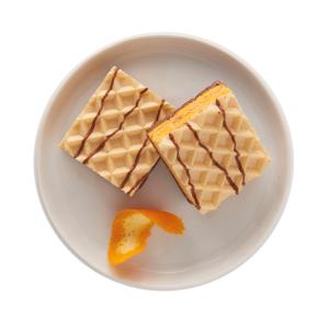 Orange Crème Flavoured Wafers