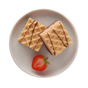 Strawberry Flavoured Wafers